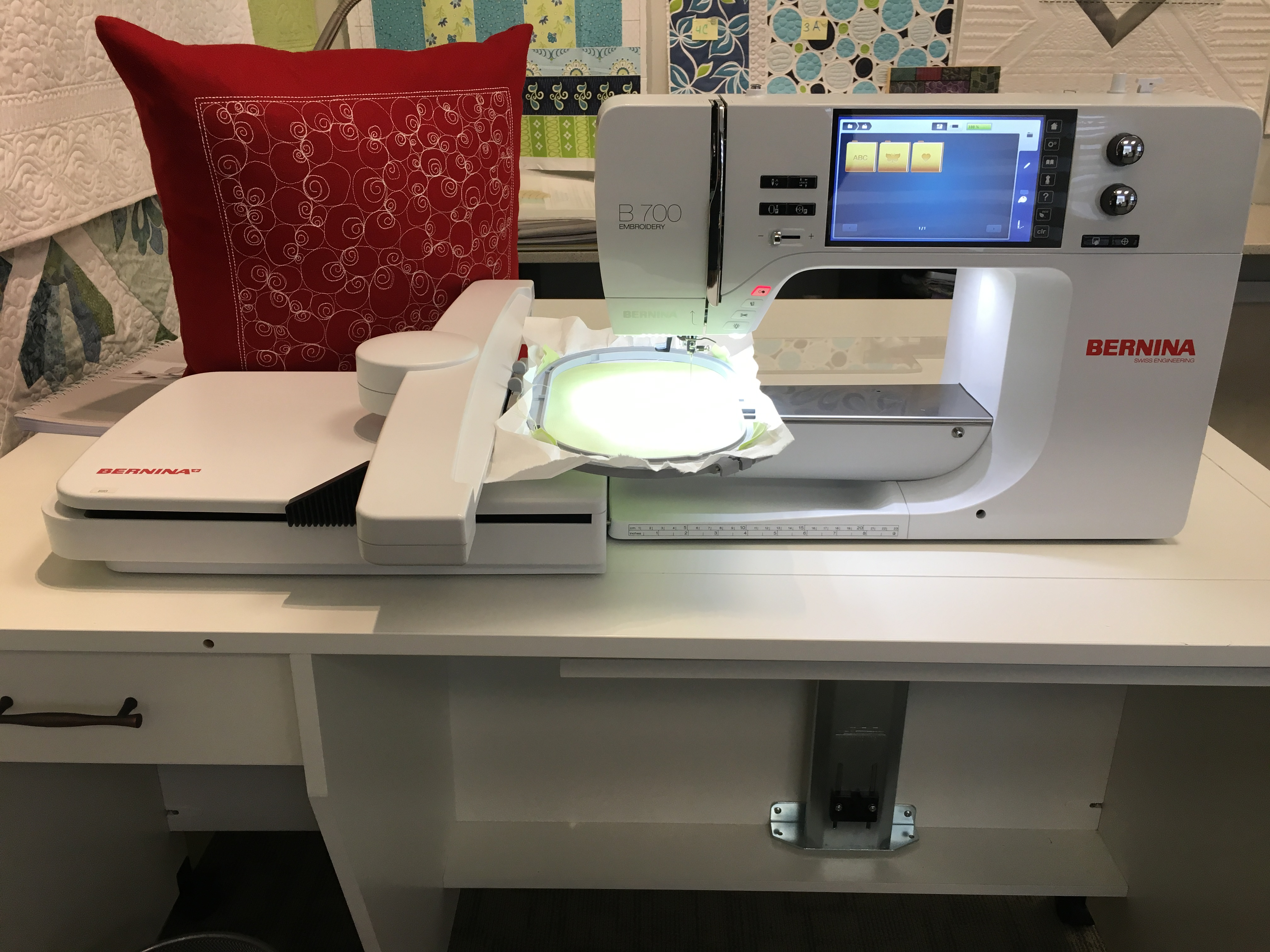 B700 Embroidery